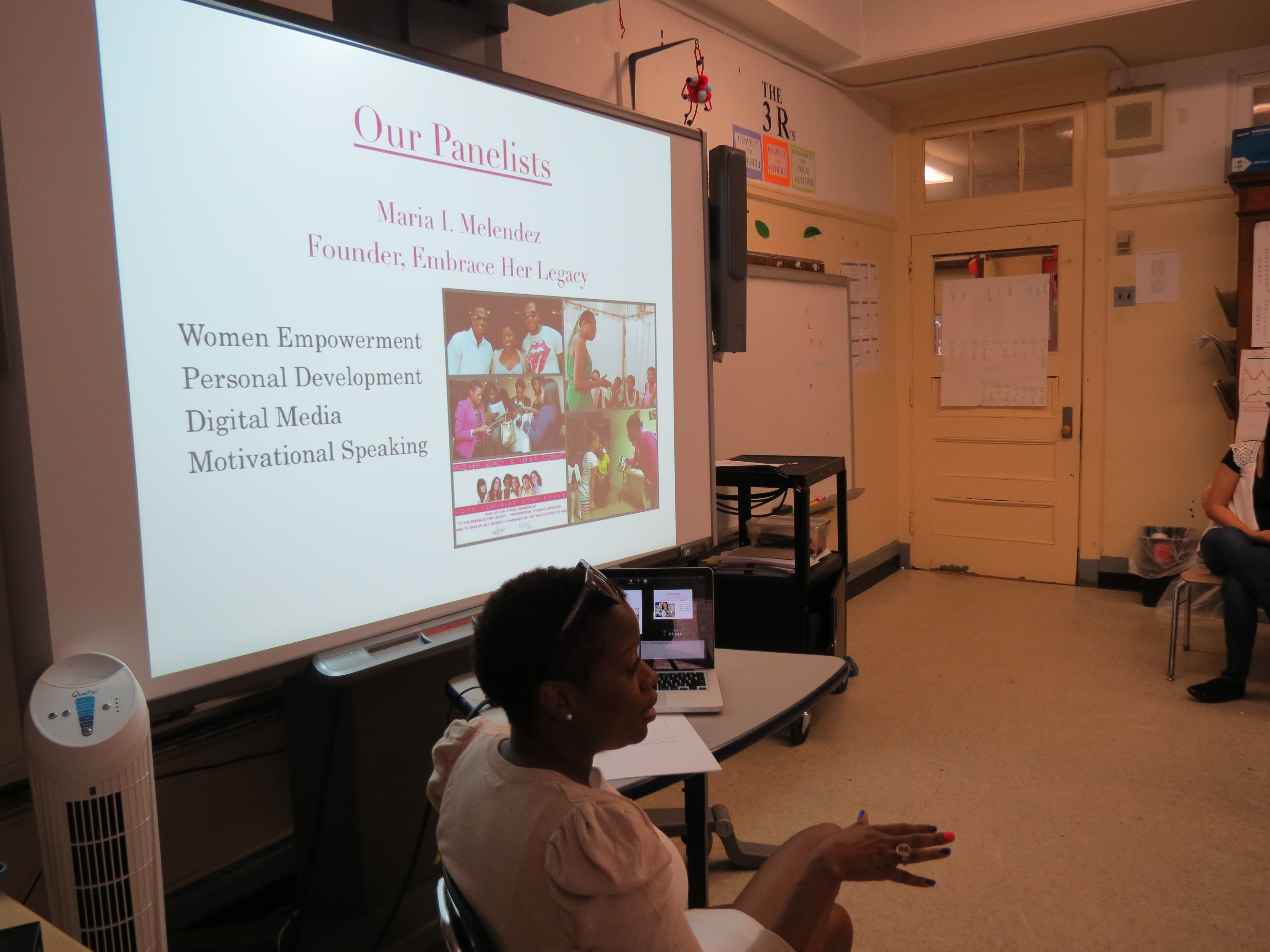 Courage, Confidence & Career Workshop at Crotona