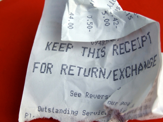 Pay Your Dues…But Keep The Receipt