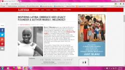 Featured as an Inspiring Latina on Latina.com (June 2015)
