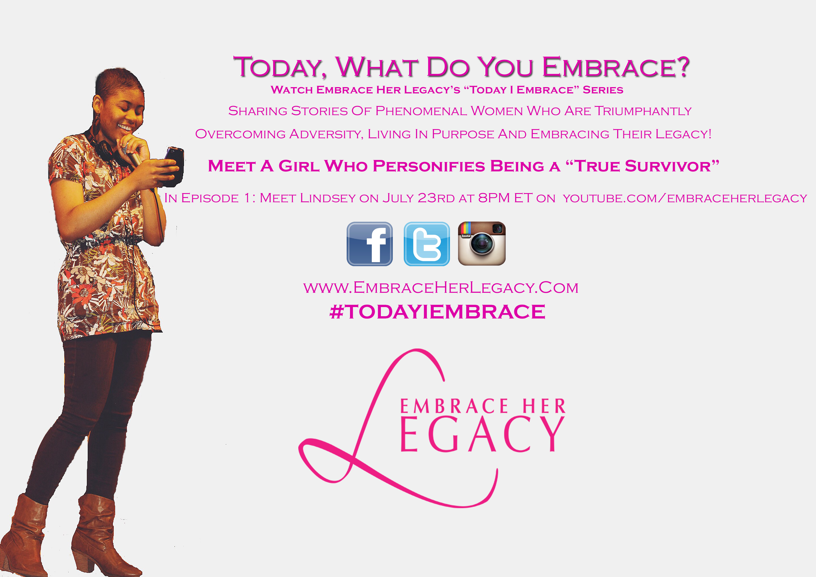 Tune In and Watch Our Today I Embrace Series