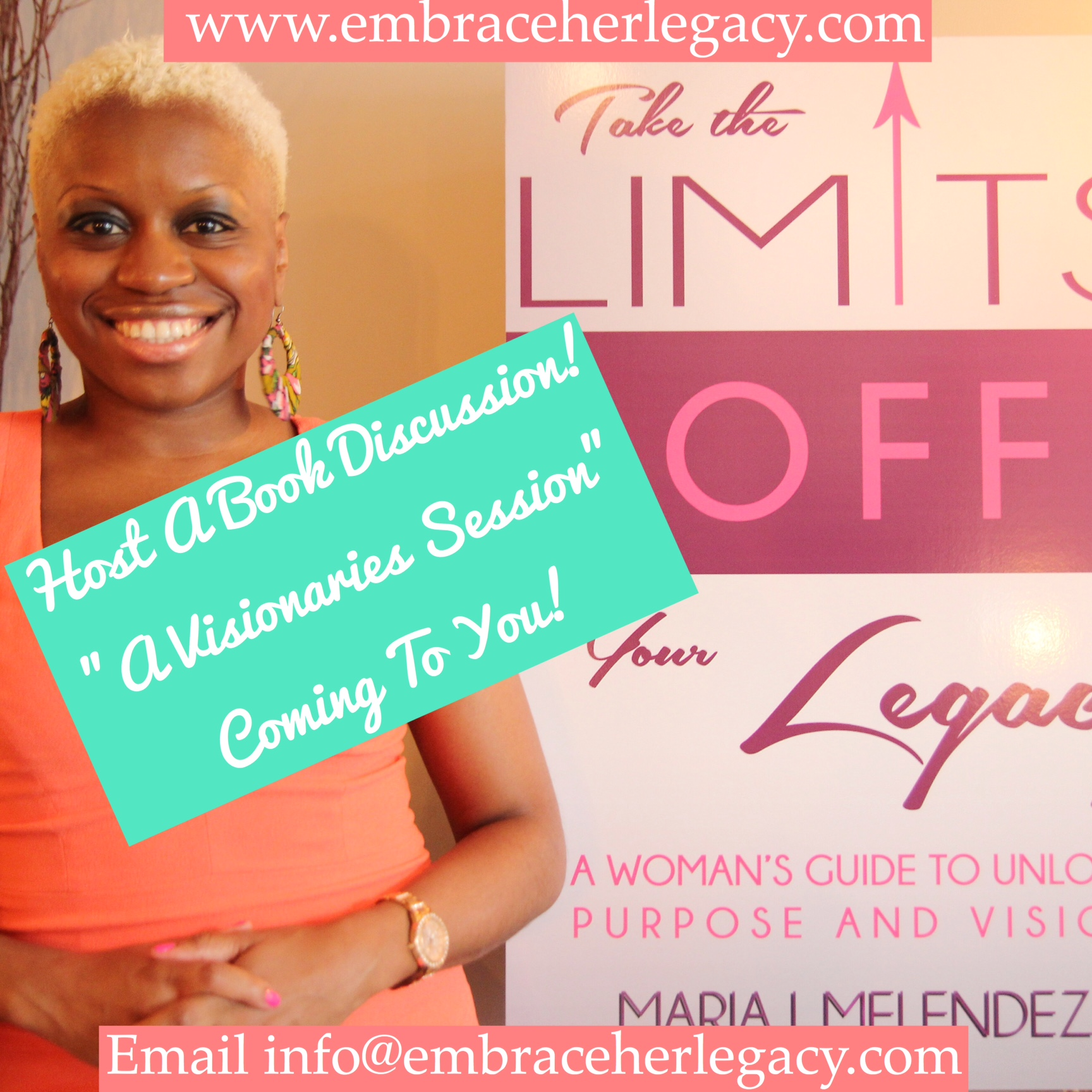 Host a Visionaries Session (Book Discussion) with Maria!