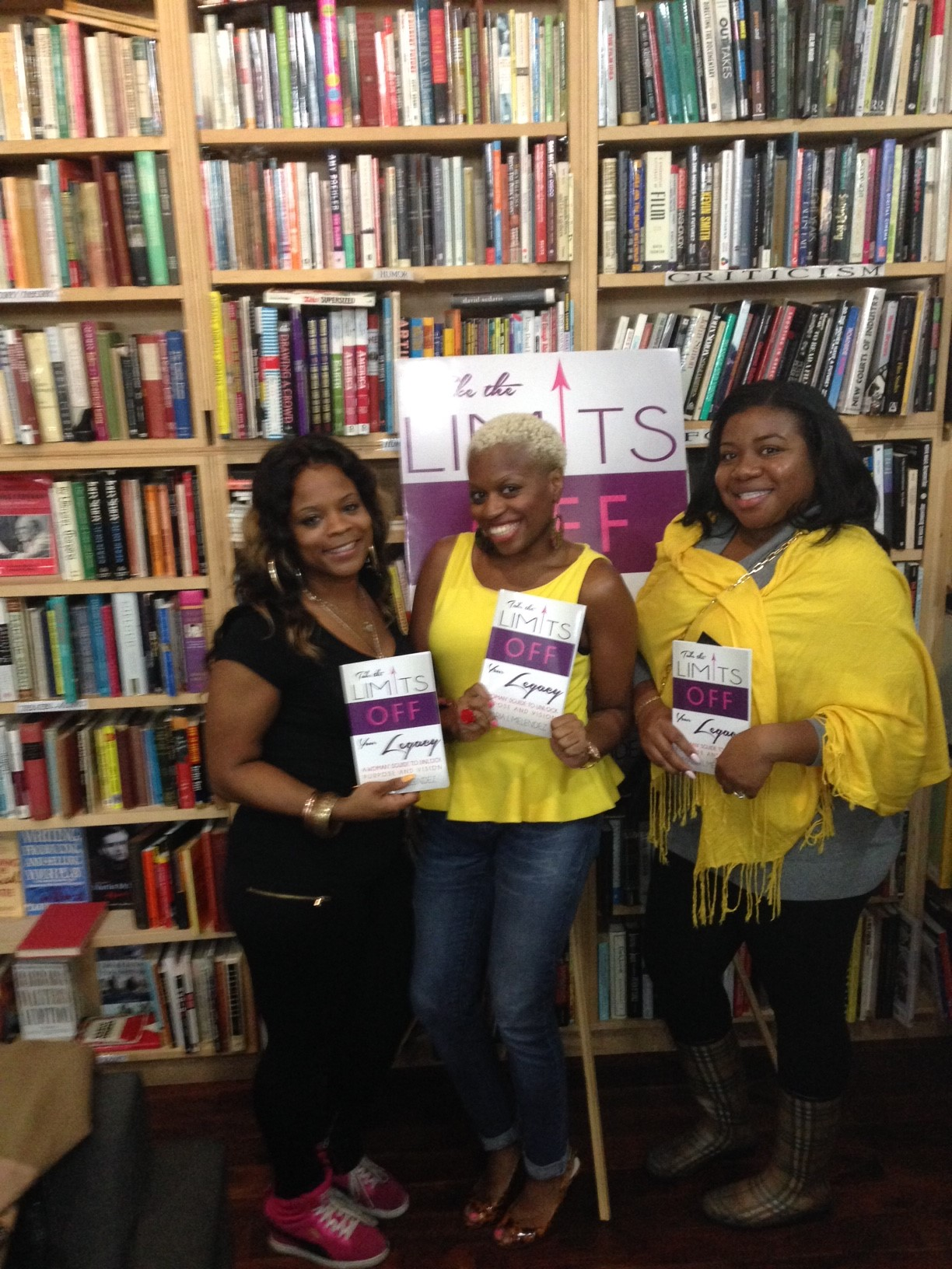 Recap! The Take the Limits Off Your Legacy – Dialogue & Book Signing Event!