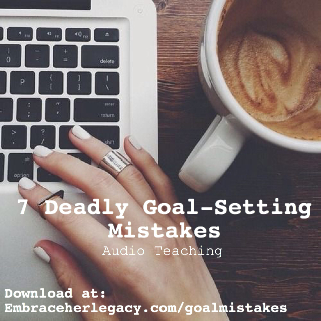 7 Deadly Goal-Setting Mistakes (Audio Teaching)
