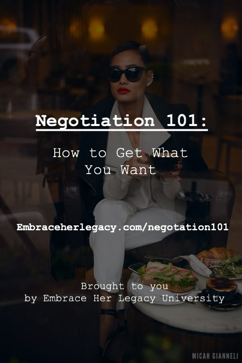 Negotiation 101: How to Get What You Want