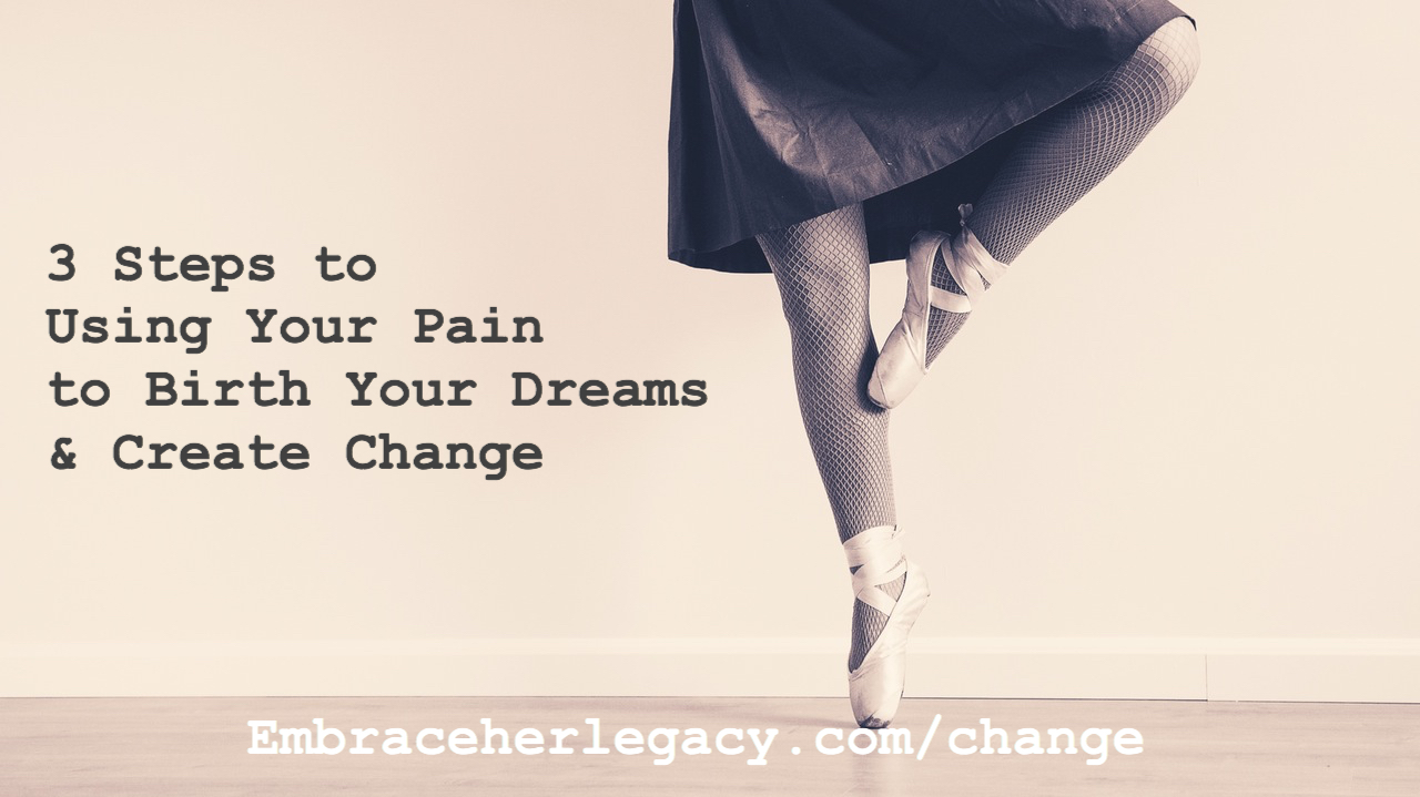 Free Course! Use Your Pain to Birth Your Dreams and Create Change